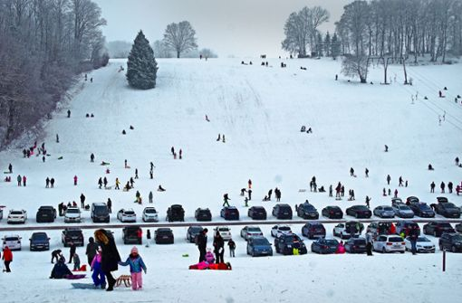 Wegen Überfüllung hofft so mancher auf Schneeschmelze