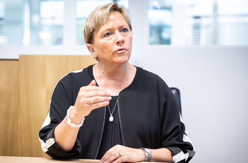 Baden-Württembergs Kultusministerin Susanne Eisenmann will Pfingst- und Sommerferien nicht antasten. Foto: Lichtgut/Julian Rettig/Julian Rettig