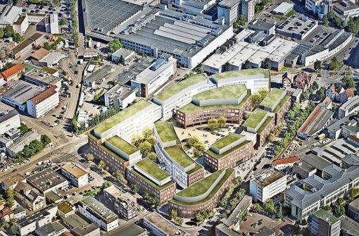 Bosch baut Bürogebäude für 2500 Mitarbeiter