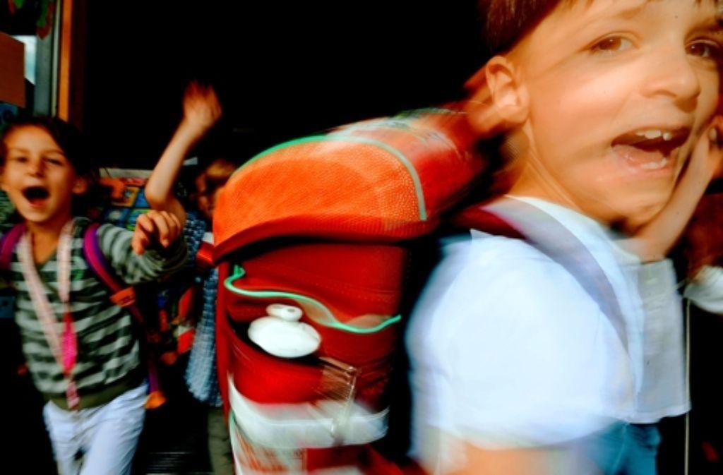 Raus aus der Schule! Foto: dpa