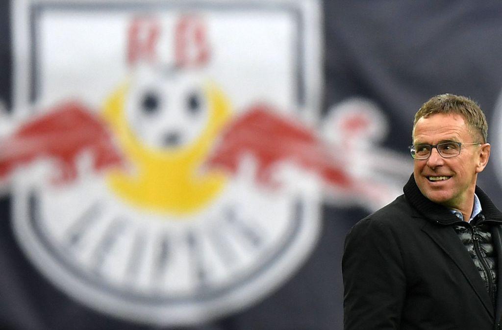RB Leipzigs Sportdirektor und Trainer Ralf Rangnick war einst auch für Salzburg zuständig. Foto: dpa