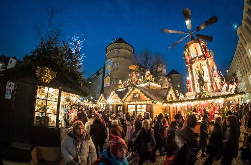 Nun doch Barrieren für den Stuttgarter Weihnachtsmarkt