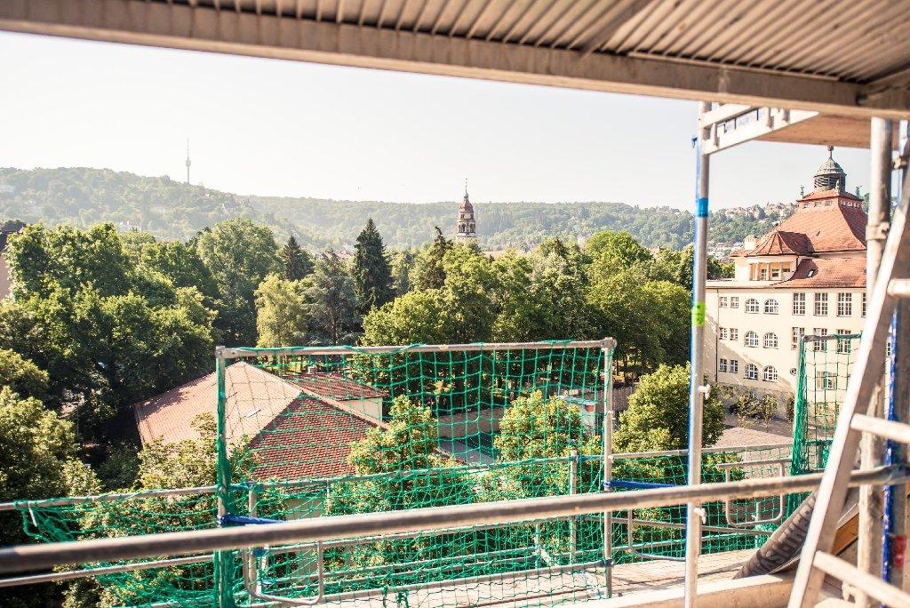 Das Heusteig Living in Stuttgart kommt gut voran. Foto: www.7aktuell.de | Florian Gerlach