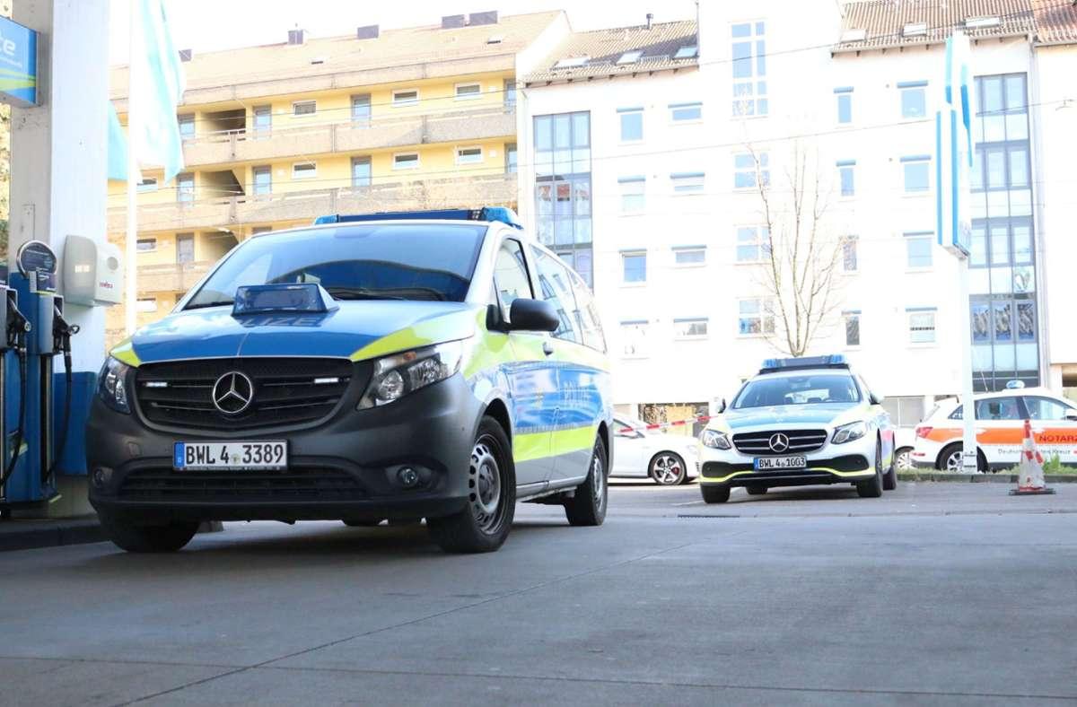 Die Polizei konnte die Videos der Tankstelle auswerten. Foto: SDMG / Pusch