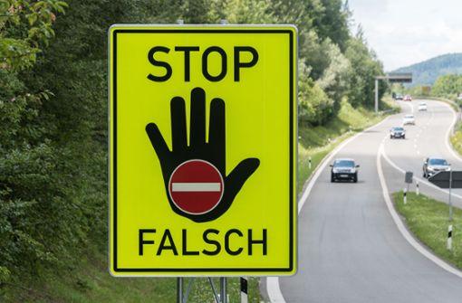 Geisterfahrer sorgen für Angst auf Autobahn – drei Verletzte