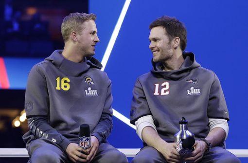Das Duell der Generationen beim Super Bowl
