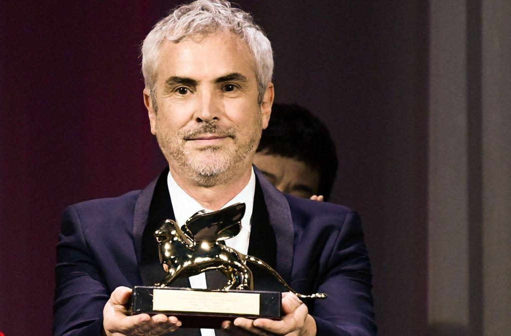 """Beim Filmfestival in Venedig erhielt Alfonso Cuarón den goldenen Löwen für """"Roma"""". Foto: AFP"""