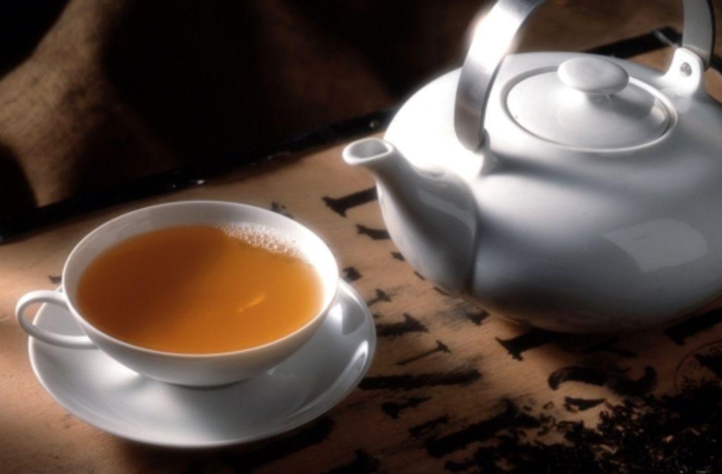 Der Verkauf  von Teeprodukten Foto: dpa