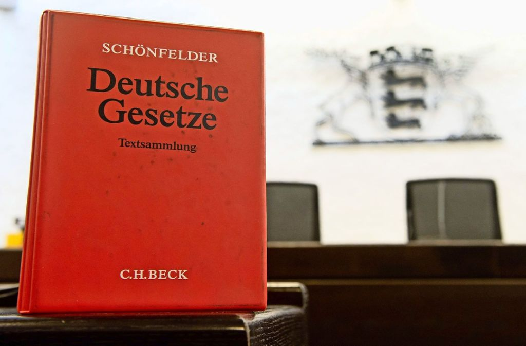 Das Stuttgarter Landgericht hat einen 37-jährigen Ludwigsburger wegen Raubs verurteilt. Foto: dpa