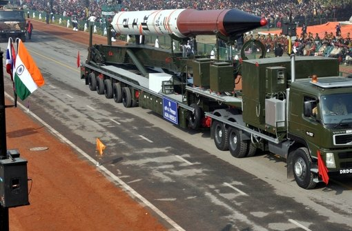 Atomwaffenfähige Rakete getestet