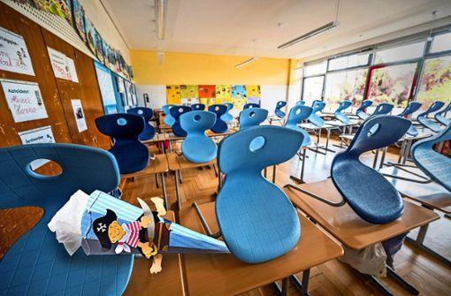 Erster Schultag wegen Corona ohne Eltern