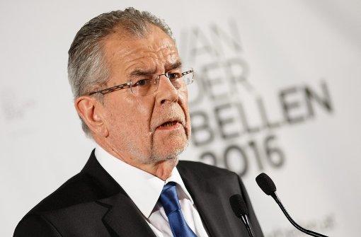 Zittersieg für Van der Bellen bei Bundespräsidentenwahl