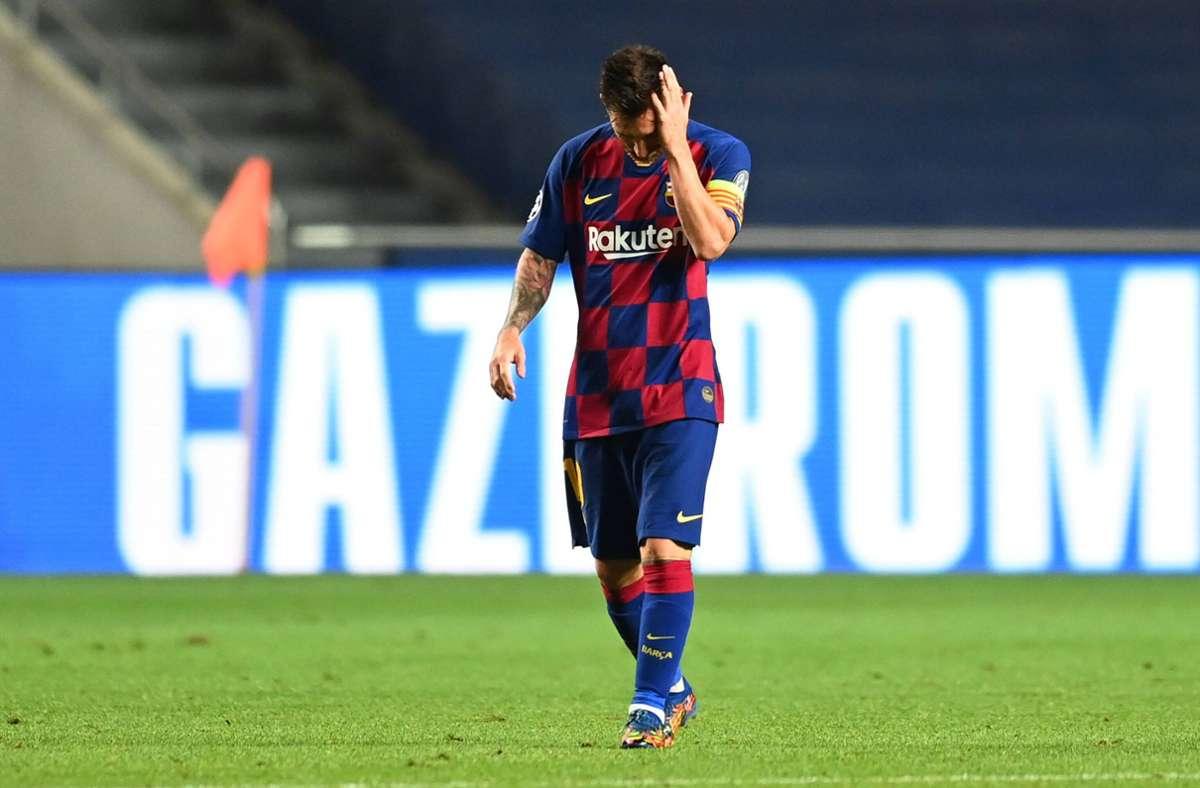 Lionel Messi will den FC Barcelona noch in diesem Sommer verlassen. Foto: imago
