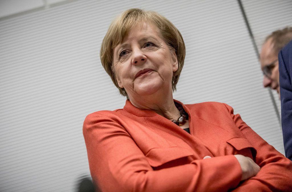 Wer wird mit Angela Merkel regieren? Foto: dpa