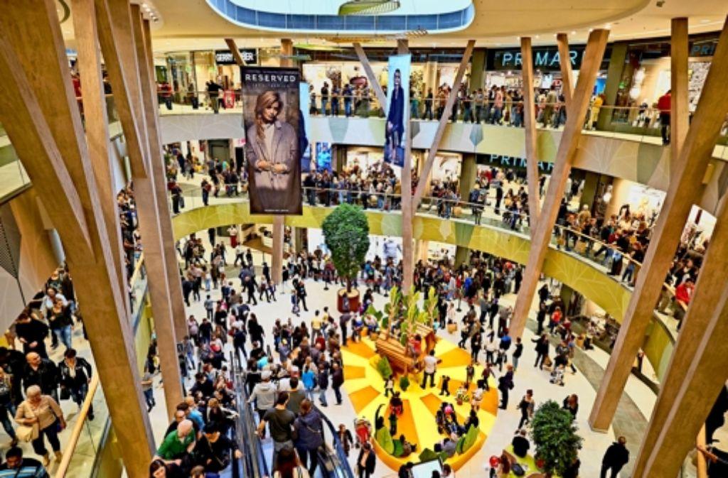 Milaneo in stuttgart kritik und konsumrausch stuttgart for Einkaufszentrum stuttgart