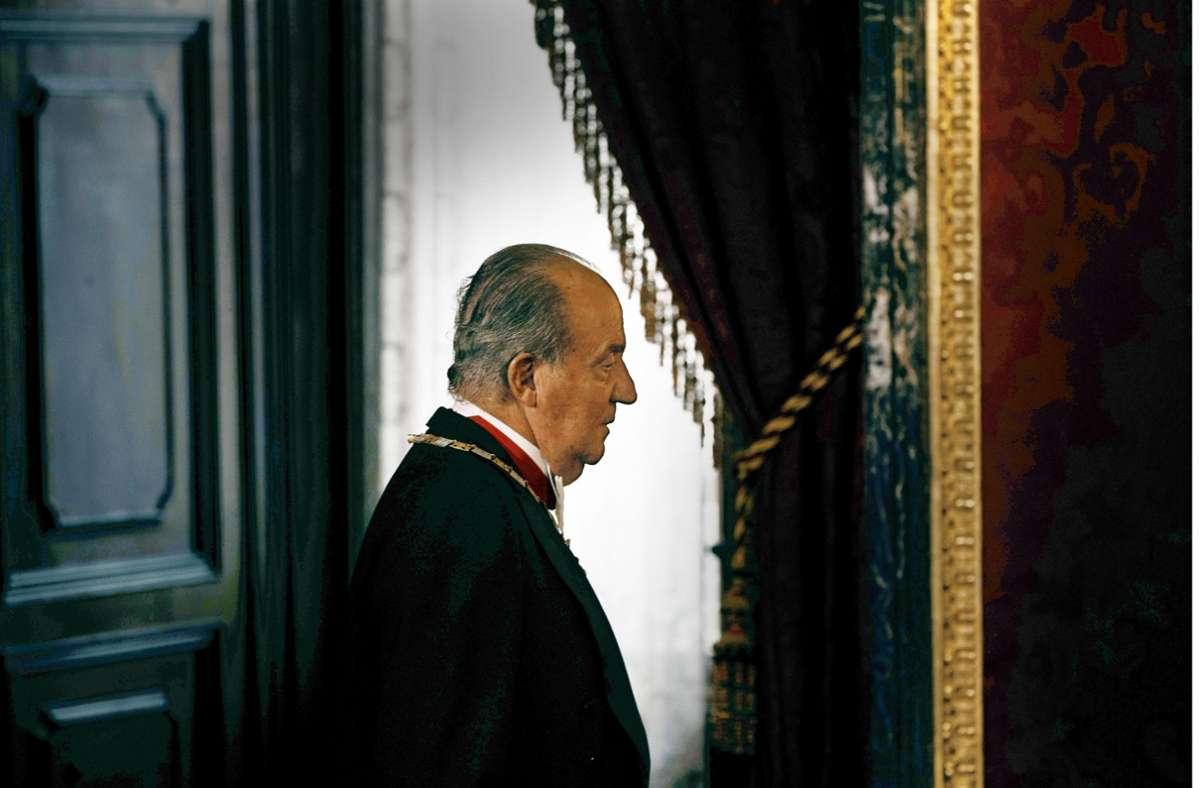 Tief gefallen: Juan Carlos, Ex-König von Spanien, heute im Exil in den Arabischen Emiraten Foto: AFP/Daniel Ochoa de Olza
