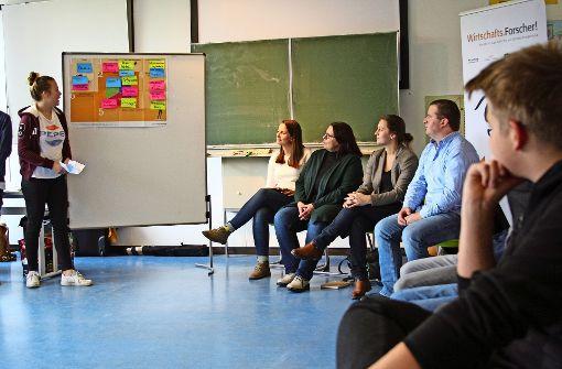 Schüler diskutieren über Fleischkonsum