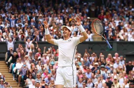 Andy Murray holt Wimbledon-Titel
