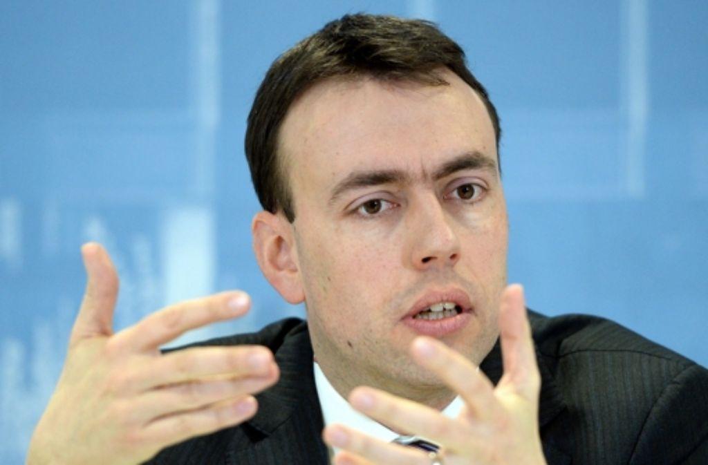 Nils Schmid (SPD) steht der Energiewende auf Pump offen gegenüber.  Foto: dpa