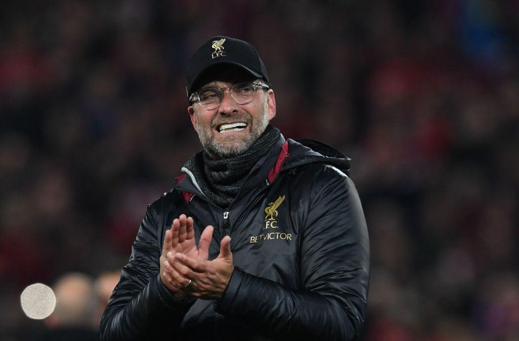 Keiner weiß besser als Jürgen Klopp, wie man Fußballfans begeistert. Foto: AFP