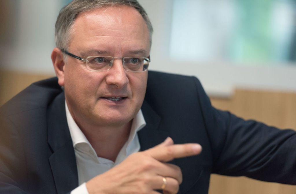 Andreas Stoch wundert sich über die Grünen-Fraktion im Landtag. Foto: