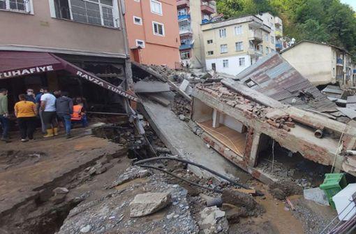 Sechs Tote bei Überschwemmung an Schwarzmeerküste