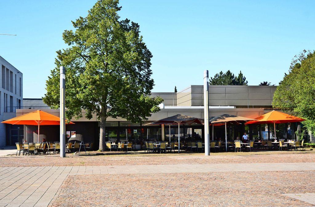 """Die Gaststätte """"Applaus"""" im Kornwestheimer Kulturhaus K ist insolvent. Foto: KWZ"""