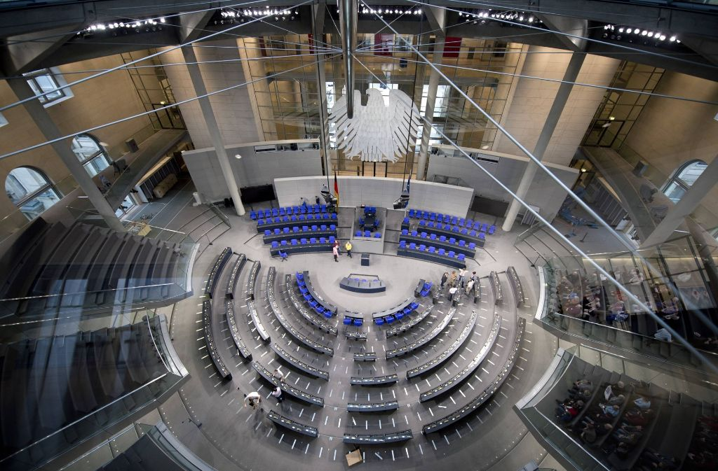 Der Sehnsuchtsort in Berlin: Hier sitzen künftig neun Abgeordnete aus Stuttgart. Foto: imago stock&people