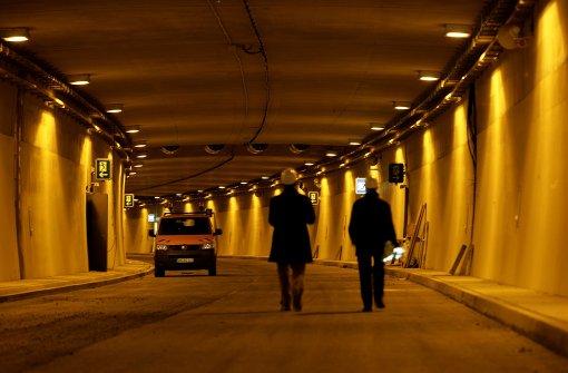 B10-Tunnel ist nachts gesperrt