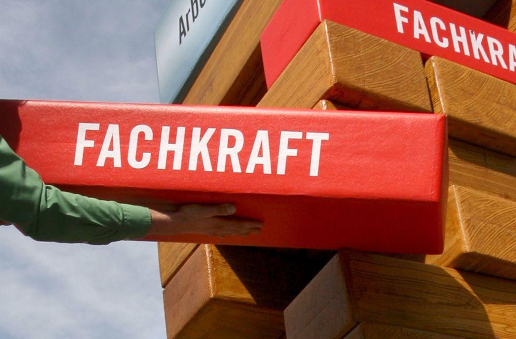 Jeder fünfte Arbeitnehmer in Deutschland, der in einer Fachkraft-, Spezialisten oder Experten-Position arbeitet, tut dies ohne die erforderliche fachliche Qualifikation. Foto: dpa