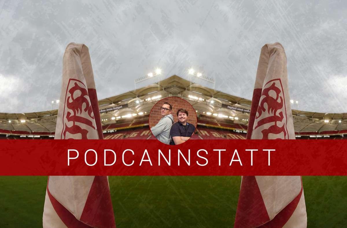 Der Umbau des Stadions ist im Fokus der aktuellen Podcast-Folge zum VfB Stuttgart. Foto: StZN/Baumann