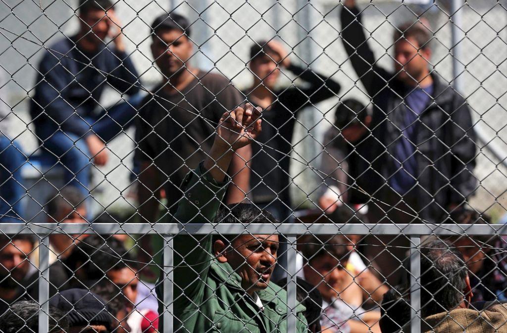In Griechenland ist die Situation der Flüchtlinge besonders hart – das Land ist von der Finanzkrise schwer getroffen. Foto: