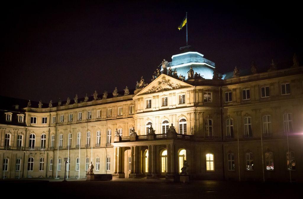 Im Stuttgarter Neuen Schloss dreht sich die Debatte um das Thema Innovation – und wie sie im Land motiviert und finanziert werden kann. Foto: Achim Zweygarth