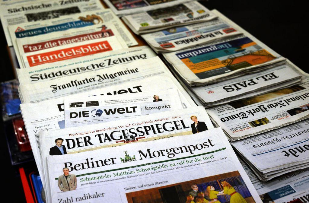 Der Deutsche Jornalisten-Verband hält eine Änderung des Pressekodex für unnötig. Foto: dpa-Zentralbild