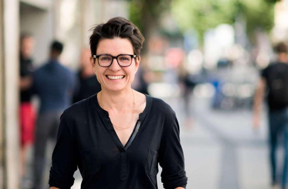 Alexa Steinbrenner ist die Künstlerische Leiterin der Theatergruppe Lokstoff! Foto: /Foto:Lokstoff/Valerie Hammacher