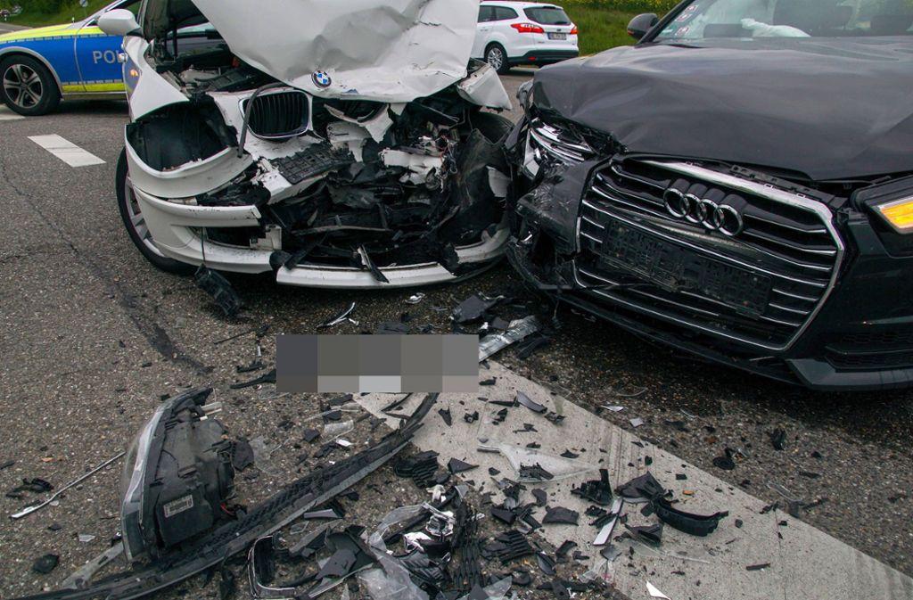 In Herrenberg ereignete sich ein Unfall. Foto: SDMG