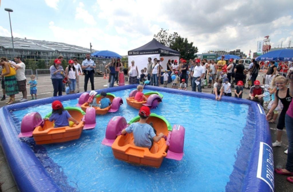 Das Kinderfest am Stuttgarter Flughafen Foto: FACTUM-WEISE