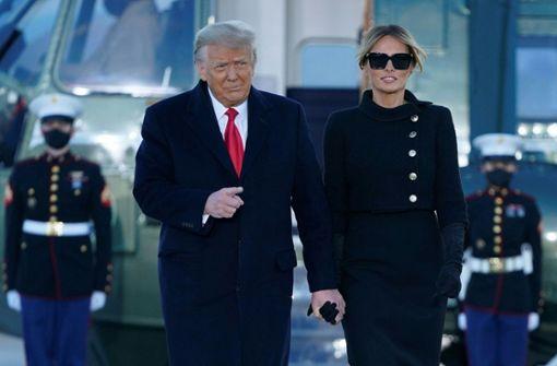 Donald und Melania Trump ließen sich gegen Coronavirus impfen