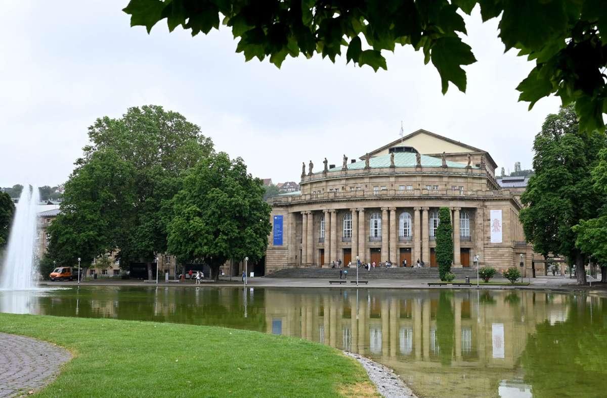 Die Stuttgarter Oper Foto: dpa/Bernd Weissbrod