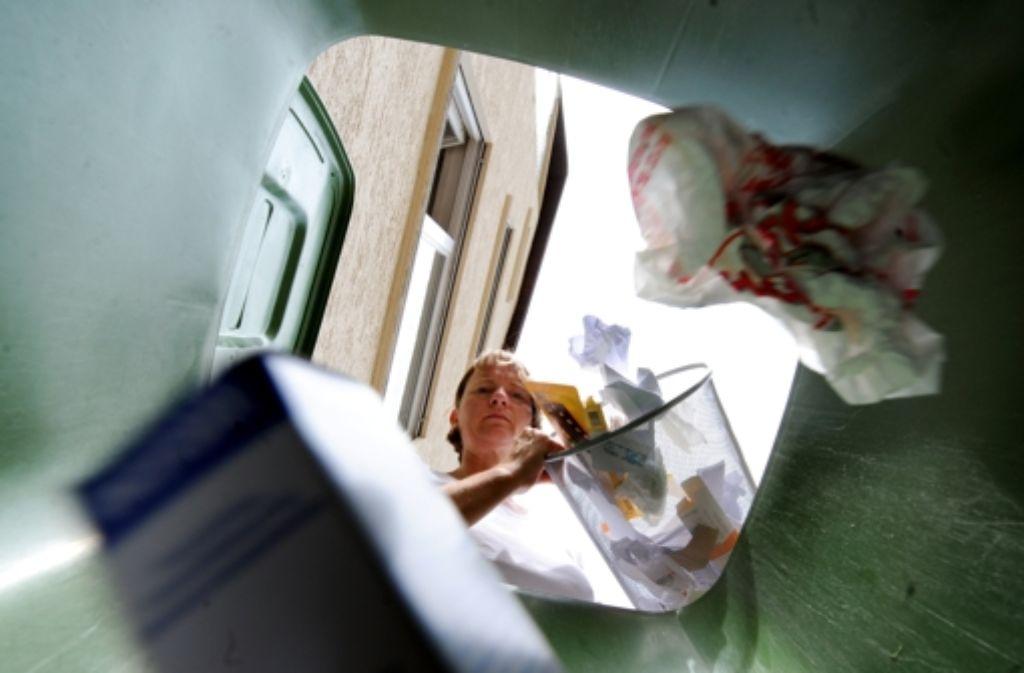 Die Müll-Trennleidenschaft und die freiwillige Nutzung der Biotonne sind Gründe, weshalb die Stadt es nicht schafft, die vereinbarte Menge Restmüll an die EnBW zu liefern. Foto: