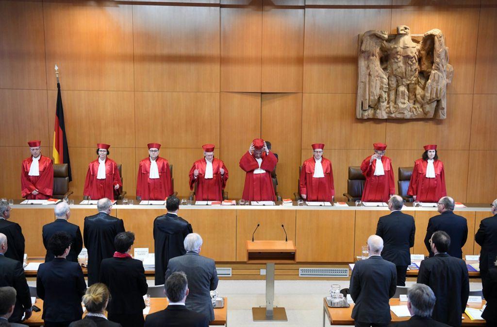 Das Bundesverfassungsgericht in Karlsruhe hat ein Urteil zur Grundsteuer gesprochen. Foto: dpa