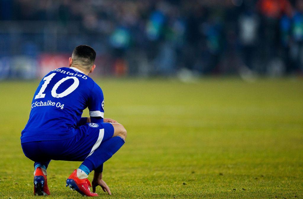Nabil Bentaleb vom FC Schalke 04 Foto: dpa