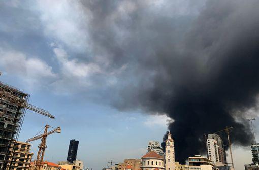 Großbrand bricht nur einen Monat nach Explosion aus