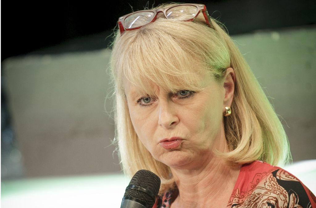 Karin Maag sieht sich zunehmend als Befürworterin eines generellen Sexkaufverbots wie in anderen Ländern. Foto: Lichtgut/Leif Piechowski