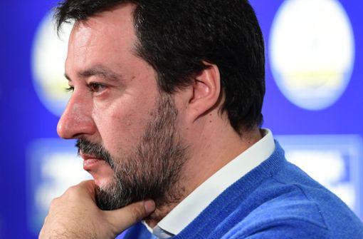 Salvini bläst der Wind entgegen