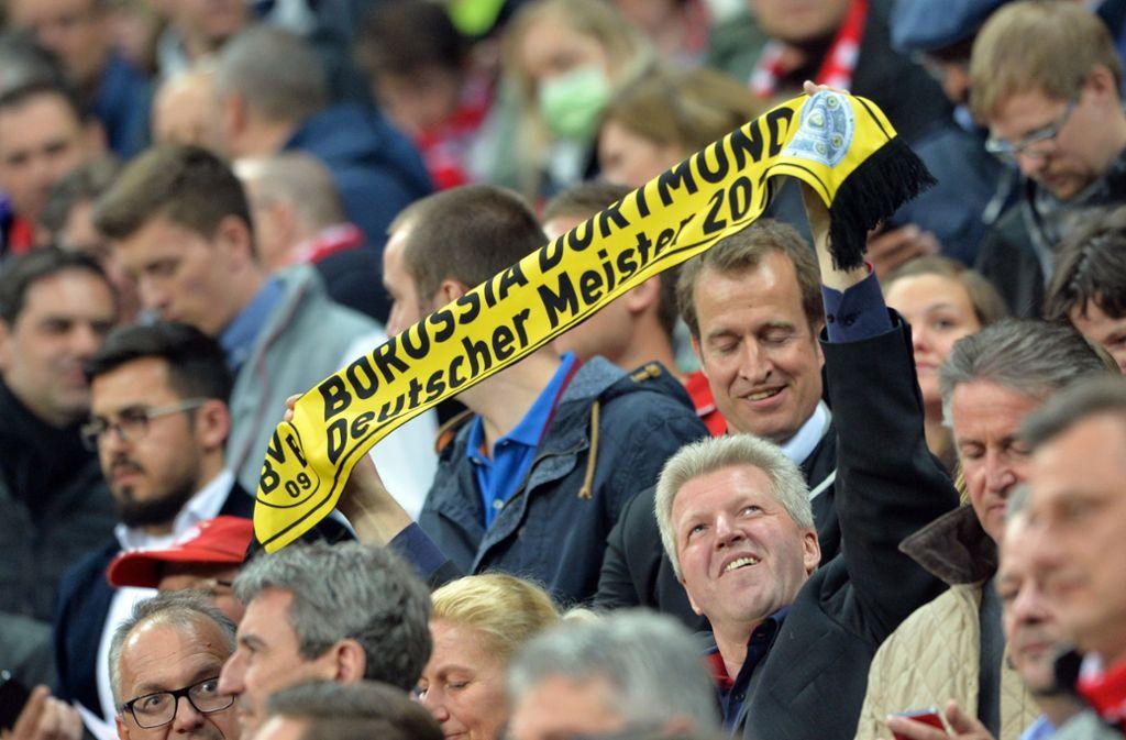 Der BVB hofft im Meisterrennen auf Schützenhilfe von Frankfurt. (Symbolbild) Foto: dpa