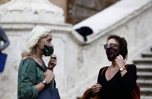 Italien plant wohl landesweite Maskenpflicht im Freien