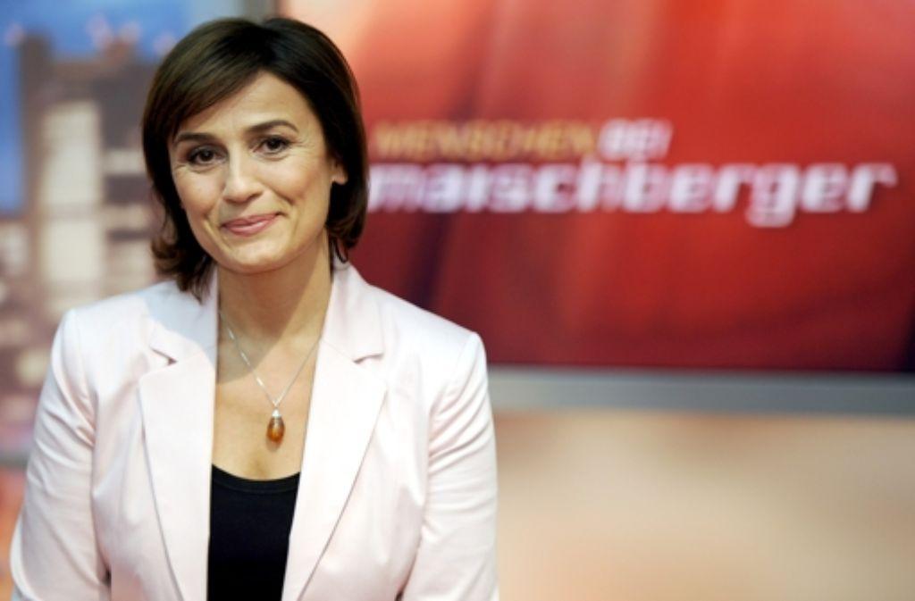 Sandra Maischberger will am Dienstag über Homosexualität im Lehrplan diskutieren. Foto: dpa