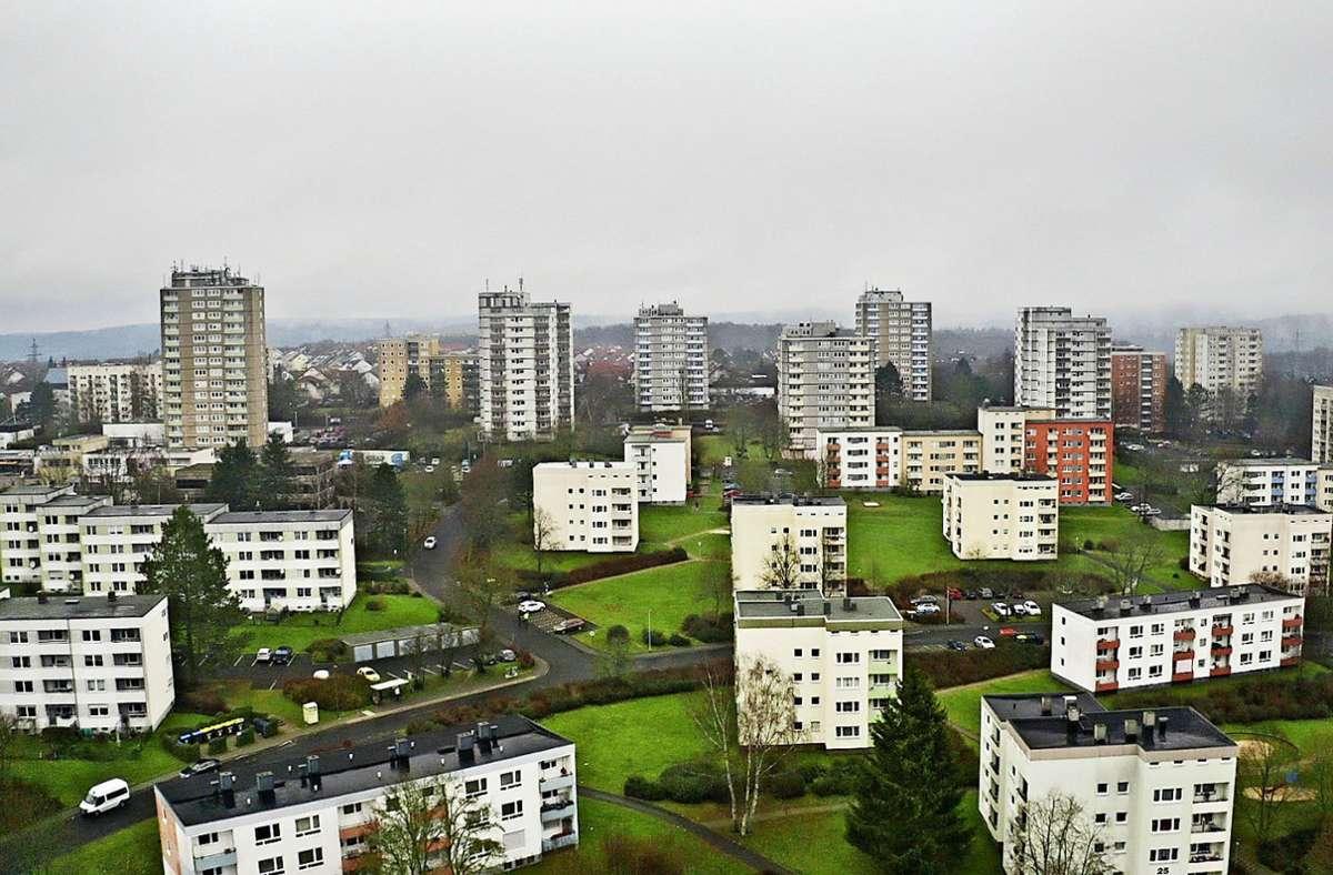 In Fulda ist das Wohnviertel Aschenberg bei vielen verrufen. Foto: ZDF/Henrik Eichmann