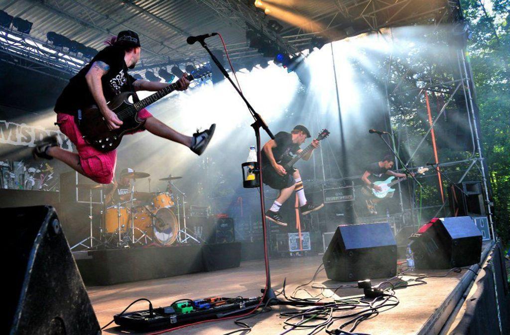 Beim Warmbronner Open Air gibt es Live-Musik an drei Tagen. Foto: Stadt Leonberg